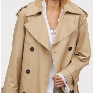 H&M Beige Trench Coat